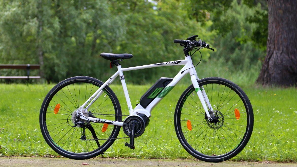 Rower elektryczny Skoda